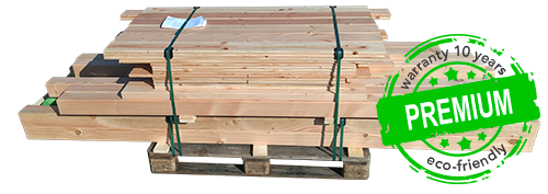 Premium timber pallet